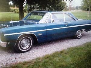 For Sale--Classic 1968 Plymouth Fury lll