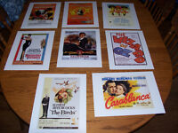 Art Prints of Classic Movies 12 by 16 $20 EACH