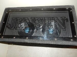 Jensen Sub woofers for vehicle or home