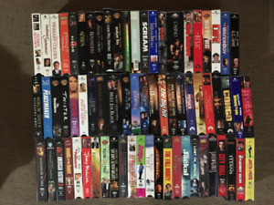 VHS movie - Great Selection!  60+ movies