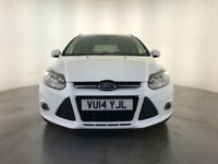 2014 FORD FOCUS TITANIUM NAVIGATOR TDCI DIESEL ESTATE LEATHER INTERIOR 1 OWNER