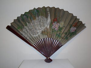 Vintage Bamboo Fan