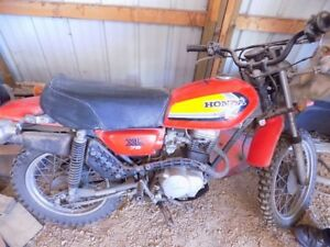1979 Honda Xl 75 Enduro