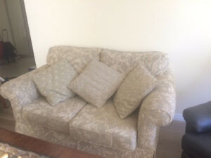 Almost brand new Sofa Set ( sofa+ 2 Armchairs ONLY for $350