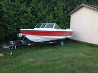 16' Silverline, Motor and Trailer