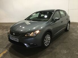 2013 Seat Leon 1.6 TDI SE AUTOMATIC 5 Door In Grey