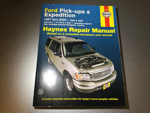 1997-2003 Ford F-150 F-250 Expedition Navigator Shop Manual