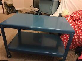 Blue IKEA Coffee Table