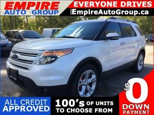 2011 FORD EXPLORER LIMITED * AWD * LEATHER * 2 DVD'S * PANO SUNR