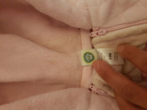Newborn snowsuit 0-3 months and 0-6 months