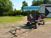 wagon voiture pour cheval