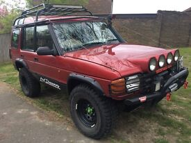 Land Rover discovery off roader best around!!
