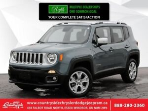 2019 Jeep Renegade Limited  -  Uconnect -  Bluetooth