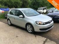 Volkswagen Golf 2.0TDI CR ( 110ps ) 2009 SE, 2009, 63000 MILES WITH FULL SERVICE