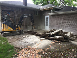DEMOLITION & CONCRETE REMOVAL