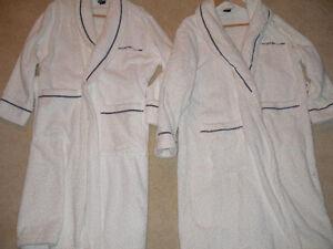 2 Porsche bathrobes