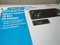 10 Disc REMOTE Cd Changer