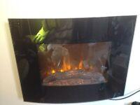 ELECTRIC FIRE-HEATER ( REMOTE )