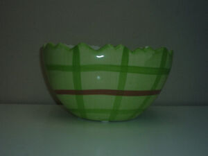 Ceramic Easter Baskets,Bowls,Straw Wreaths.. As shown Cambridge Kitchener Area image 2