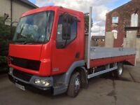 Daf 45 recovery dropside plant 2004 12 months mot mint
