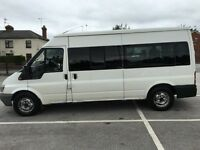 FORD TRANSIT 2.4 15 SEATER DIESEL MINI BUS 52 PLATE..12 MONTH MOT..PX/SWAPS