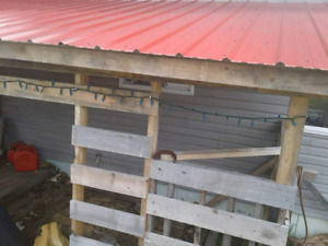 Red Steel  roof for sale 10 foot n 8 foot sheets