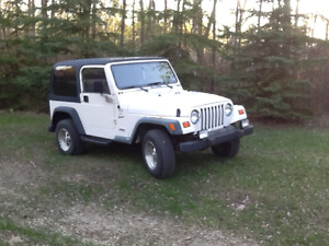 1999 Jeep TJ Sport SUV, Crossover