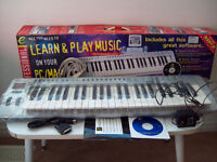Keyboard 49 Keys Evolution MK 249C Learn & Play