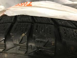 245/65/17 DM V1 Blizzak Winter Tires - $200