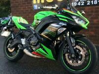 Kawasaki Ninja 650 KRT Performance 2020 and 136 miles only