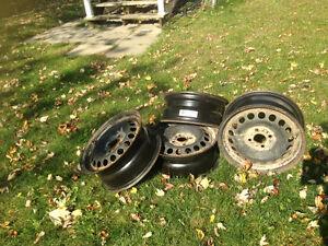 """4 Rims 15"""" (4 trous / 4 holes) GM wheels.."""