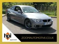 2013 BMW 320D M SPORT COUPE 2.0TD DIESEL MANUAL MSPORT GREY 71,000 MILES
