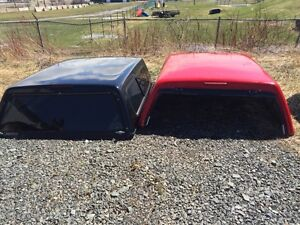 Two truck caps for 99-07 Classic GM