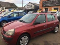 Renault Clio Expression 1.2 16v (red) 2002