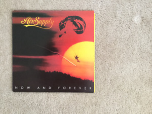 Air Supply Now And Forever 33 1/3 RPM vinyl LP