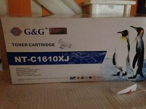 Laser printer black toner cartridge