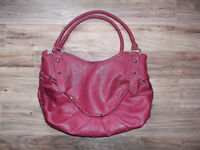 NEVER USED large red purse / handbag - only $10