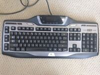 Logitech G15 keyboard with LCD screen
