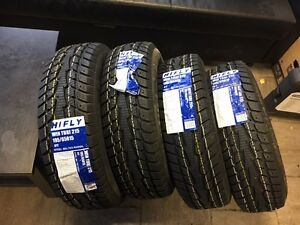 SET OF 4 NEW SNOW TIRES 195/65R15 TAXES INCLUDED