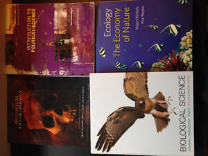 Archaeology, biology, political science textbooks SFU