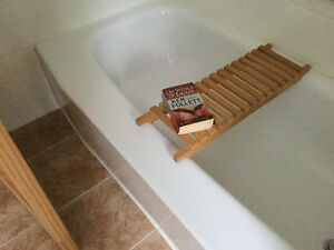 Bathtub portable shelf