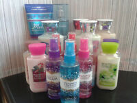 Bath & Body Works Lotions and Mists! LIKE NEW! $135 Value!