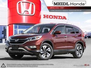Honda CR-V Touring PST Paid 2016