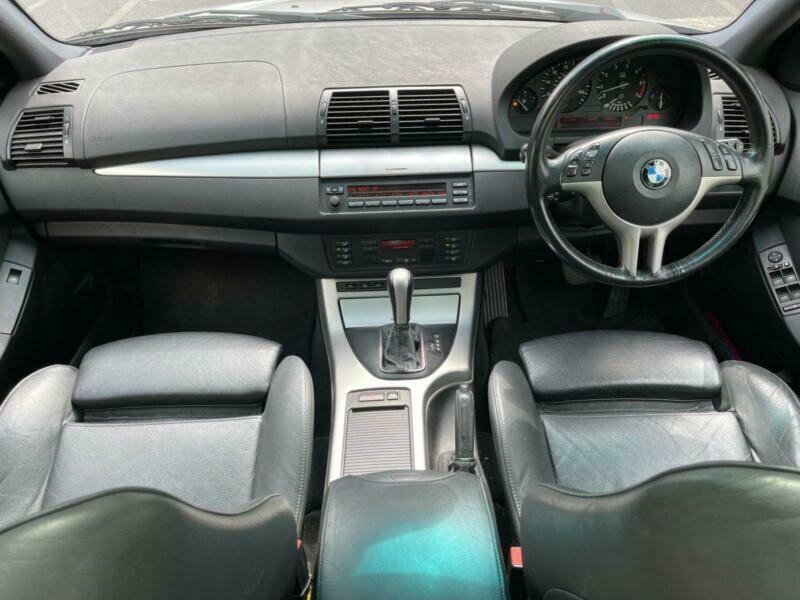 2001 BMW X5 4.4i V8 Sport Auto 4WD 5dr SUV Petrol Automatic