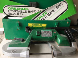 Greenlee Variable Speed Portable Band Saw