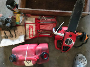 small sears chainsaw and accessories