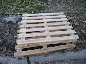 Two free wood pallets