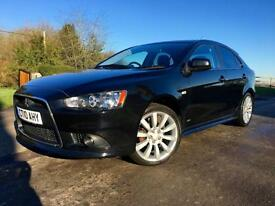Mitsubishi Lancer GS3 2.0DI-D Sportback 2010 Black Diesel Manual Hatchback