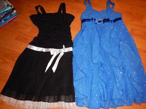 Vêtements fille 7-8 en excellente condition