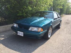 1993 Mustang LX 58,500km Mint Condition